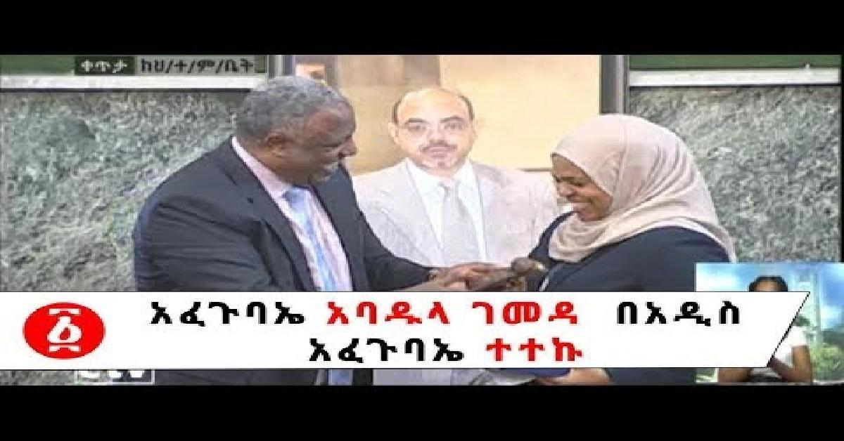 Ethiopia: Afegubae Abadula Gemeda Beades Afegubae Teteku